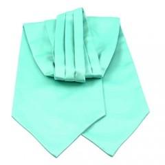Men's Classic Solid Satin Color Formal Ascot Tie