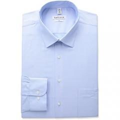 Van Heusen Men's BIG FIT Dress Shirts Herringbone Solid (Big and Tall)