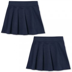 The Children's Place Girls' Uniform Skort  Pack of Two