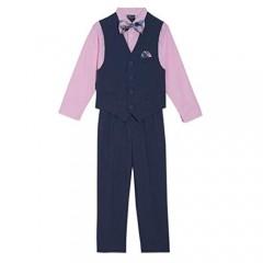 Nautica Boys' 4-Piece Set with Dress Shirt  Bow Tie  Vest  and Pants